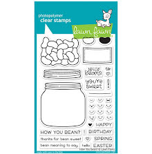 Lawn Fawn Clear Stamps 4X6 - How You Bean?