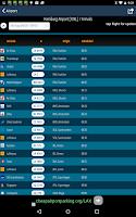 Screenshot of Hamburg Airport+Flight Tracker