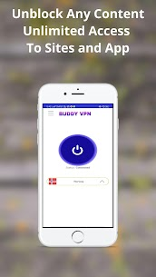 BUDDY VPN NETWORK IP PROXY CHANGE All Country(VPN) App Download For Android 6