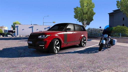 Luxury Prado Jeep Spooky Stunt Parking Range Rover screenshots 5