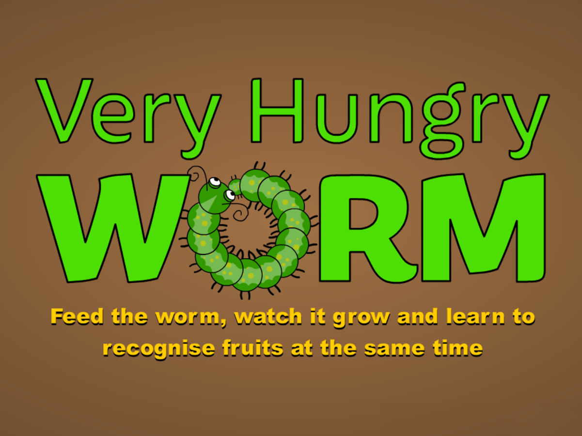 Very Hungry Worm For Kids- screenshot
