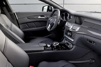 Photo: Mercedes-Benz CLS63 AMG  European model shown