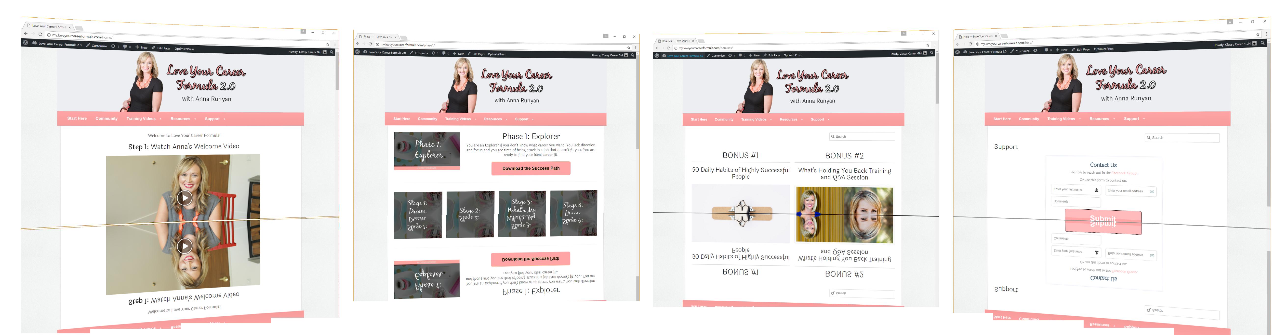 LYCF website screenshot