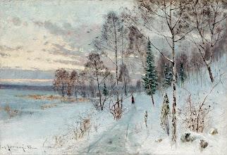 """Photo: Carl Johansson, """"Inverno"""" (1887)"""