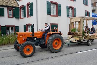 Photo: Musikwagen bei der Anfahrt