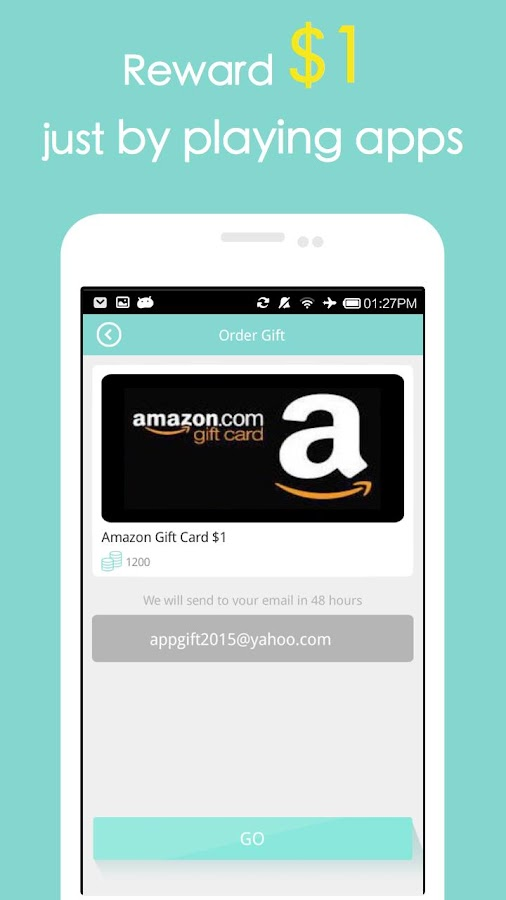 Screenshots of Cash Gift - Free Gift Cards for iPhone
