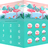 AppLock Theme Flamingo