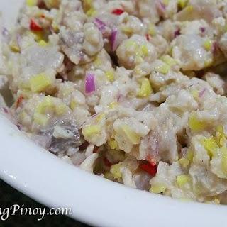 Kinilaw na Tanigue Recipe (Fish Ceviche)