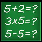 Math Kids: Add, multiplication, resta, division icon