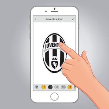 Download Pixel-Art Fußball-Logo Färbung: Farbe Nach Nummer Apk ...