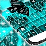 Neon Touch Keyboard Icon