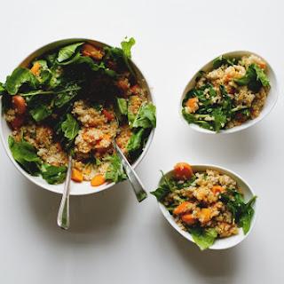 Quinoa Lentil Pumpkin Salad