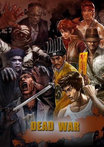 Dead War: walking zombies
