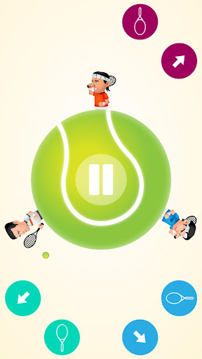 Circular Tennis 2 Player Games screenshot 9