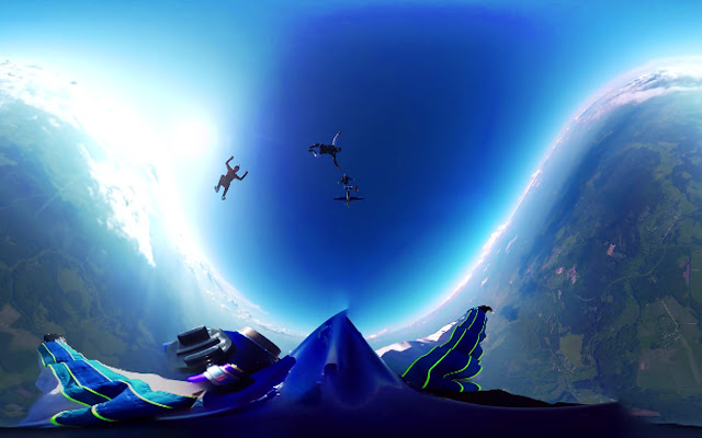 360-degree video live stream user study