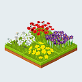 Flower Game - Garden Themed Merge Puzzle APK