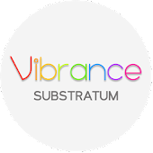 Vibrance Light Substratum Theme (Oreo supported)