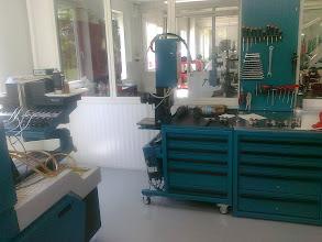 Photo: Delphi CAM Box a Delphi PD elemek vizsgálatára és javítására