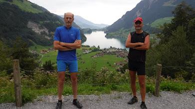 Photo: Kilátás a Lugerni tóra a Brünig hágóútról