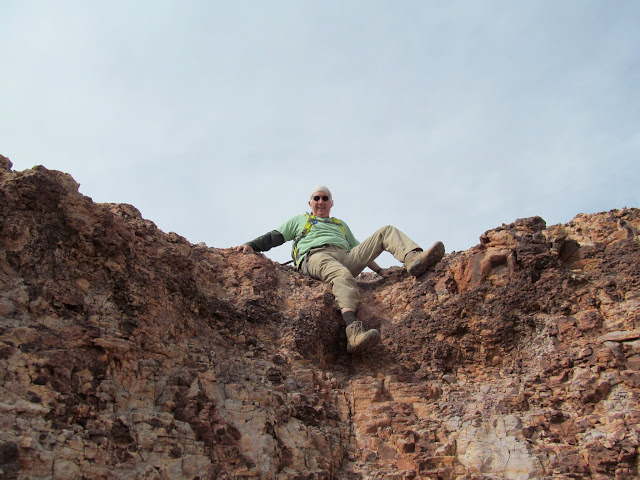Kenny on the Wickiup summit