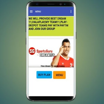 playing11-dream11,halaplay,myteam11 playerzpot APK Latest