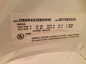 Photo: Electric Dryer details