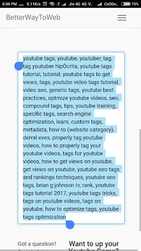 Best Tag Generator For YouTube Creator 1.0 screenshots 3
