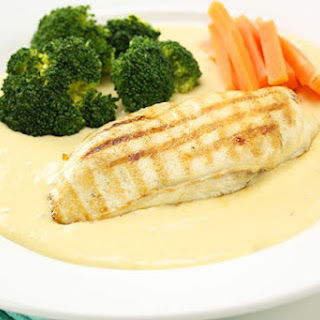 Grilled Chicken with Honey Mustard Sauce