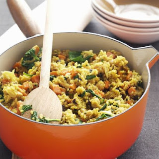 Savoury Rice Dish with Spinach Recipe