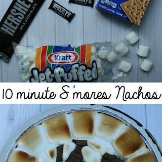 10 minute S'mores Nachos.