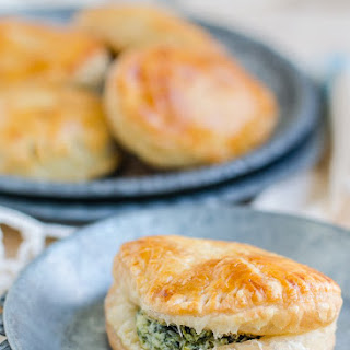 Spinach and Cheese Hand Pies Recipe