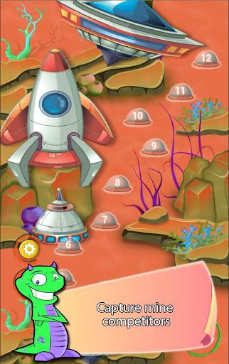 挖掘机战火星和宝石|玩策略App免費|玩APPs