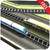 3D Train Rush Simulator