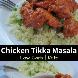 Chicken Tikka Masala with Cauliflower Rice Recipe