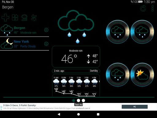 Weather Rise Clock 30+ Widgets 4.2.2 screenshots 15