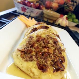 Apple Crisp Pancakes