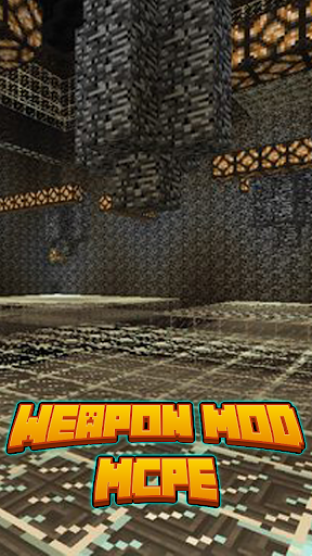 Weapon Mod For MCPE'