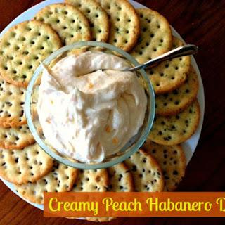 Creamy Peach Habanero Dip Recipe