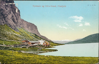Photo: Nystuen, Filefjell - 1905