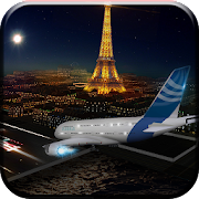 Airplane Flight Simulator 3D City Flying Aviation