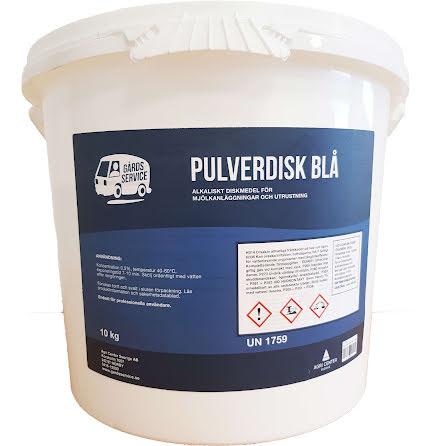 GS pulverdisk Blå 10kg