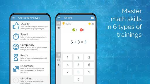 Math games: arithmetic, times tables, mental math 3.6.0 screenshots 4