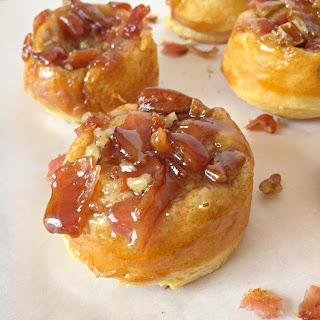 {Easy} Bacon Pecan Caramel Rolls