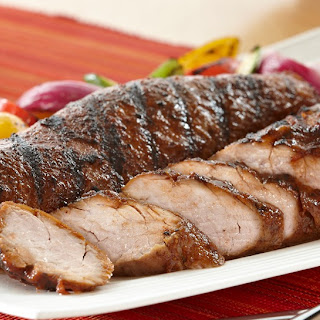 Grilled Sweet & Savory Pork Tenderloin