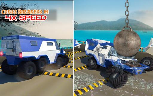 Deadly Car Crash Engine Damage: Speed Bump Race 18 screenshot 6