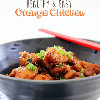 Side Dish Orange Chicken Recipes