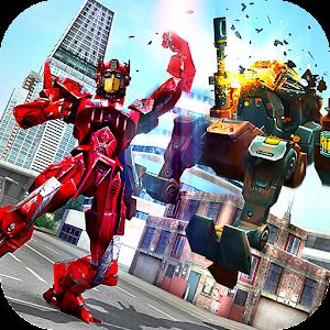 Baixar Monster Robot Hero City Battle