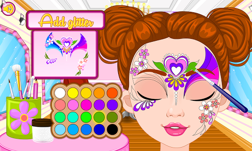 Fashion doll facial painting Apk Download 14