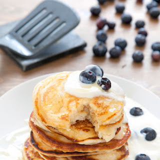 Fluffy, Gorgeous Coconut Yogurt Pancakes Recipe