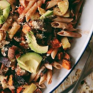 Balsamic Roast Vegetable Pasta // Vegan + GF + Oil Free